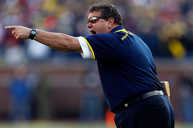 Brady Hoke of University of Michigan