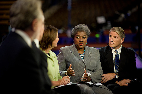 USA - 2008 Presidential Election - Donna Brazille at the DNC