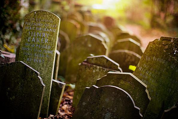 Victorian Cemetery Gravestones