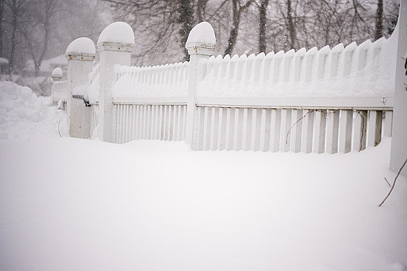 Massive Snowstorm Brings Up To Foot Of Snow To Large Swath Of Northeast