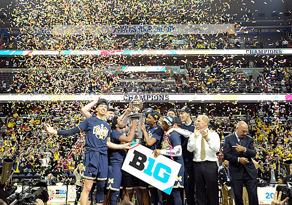 COLLEGE BASKETBALL: MAR 12 Big Ten Tournament- Michigan v Wisconsin