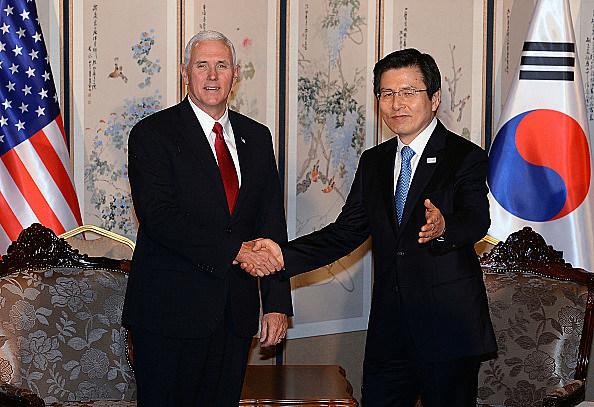 The U.S. Vice President Mike Pence Visits S. Korea - Day 2