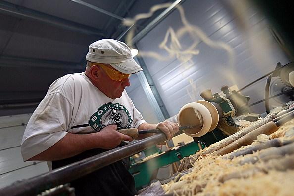 Vladimirskiye Uzory handicraft factory in Suzdal, Russia